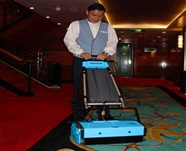 Hotel Motel Carpet Cleaning Maintenance Machine - Rotowash