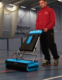 Sports Flooring Cleaning Machine - Rotowash