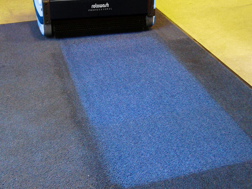 Carpet Cleaning Machine - Rotowash