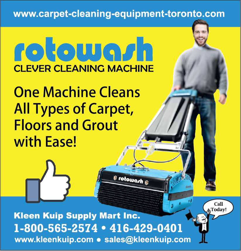 carpet floor cleaning machine rotowash