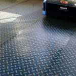 Checkerplate Floor Cleaning Machine - Rotowash
