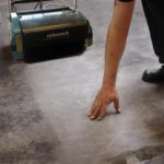 Cleaning Concete Floors - Rotowash