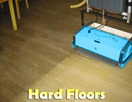 Cleaning Hard Surface Floors - Rotowash
