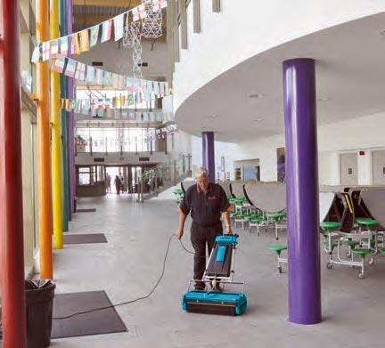 Commercial Floor Sweeper - Rotowash