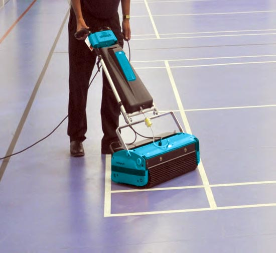 Exercise Commercial Gym Flooring Cleaning Machine - Rotowash