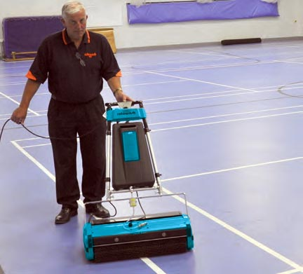 Gym Floor Cleaning Machine -Rotowash