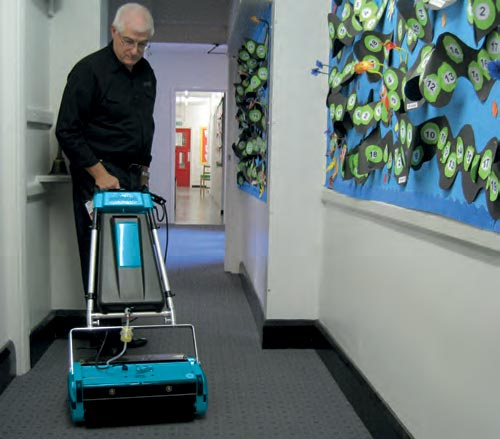 Industrial Floor Cleaning Equipment - Rotowash