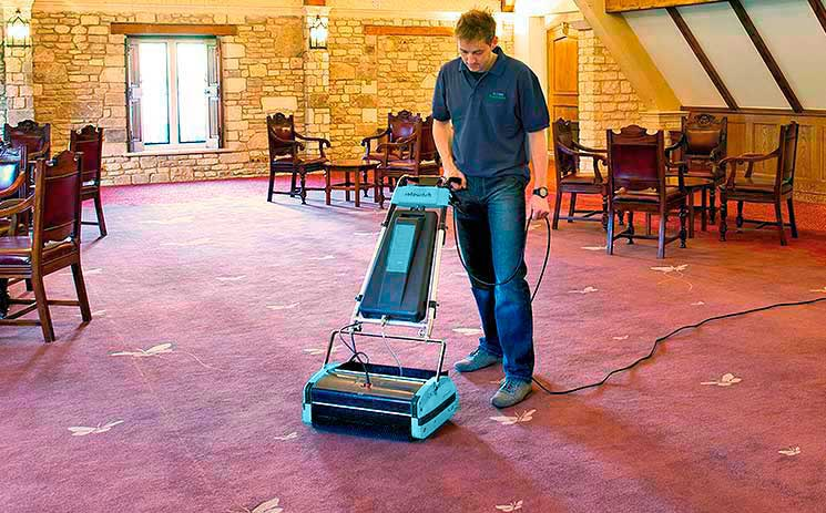 Restaurant Carpet Cleaning Machine - Rotowash