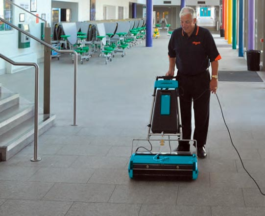 Walk Behind Floor Scrubber Machine - Rotowash