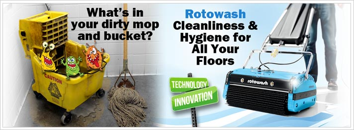 What's in your dirty mop and bucket?